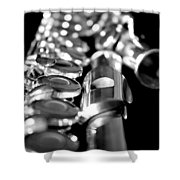 Flute Series II Shower Curtain