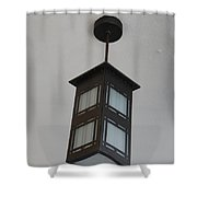 Flw Lamp Shower Curtain