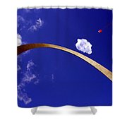 Fly A Kite Shower Curtain
