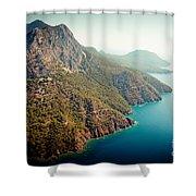 Fly Above Laguna Seascape Artmif.lv Shower Curtain