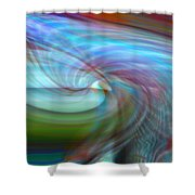 Fly By Night Shower Curtain