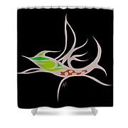 Fly Fish Fly Shower Curtain