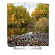 Fly Fishermans Paradise Shower Curtain