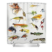 Fly Fishing I Shower Curtain