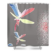 Fly In The Wing Shower Curtain