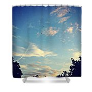 Fly Like A Bird To The Lord Shower Curtain