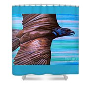 Fly Like An Eagle Shower Curtain
