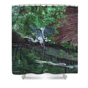 Fly Me Away To Little River Shower Curtain