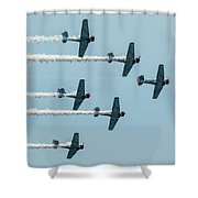 Fly Over  Shower Curtain