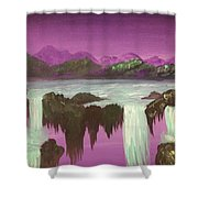 Fly With Me Shower Curtain