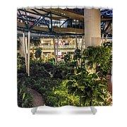 Flyer Atrium Shower Curtain