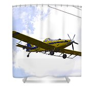 Flying By Wire 3 Of 6 Shower Curtain