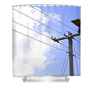 Flying By Wire 6 Of 6 Shower Curtain