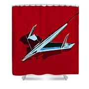Flying Chevy Shower Curtain