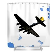 Flying For Home Shower Curtain