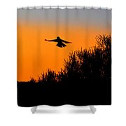 Flying Free In Northen Beaches Shower Curtain