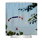 Paraplane Flying High Shower Curtain