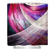 Flying Shower Curtain