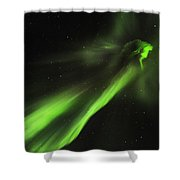 Flying Lights Shower Curtain