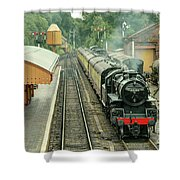 Flying Pig At Bewdley  Shower Curtain