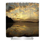 Flying Reflections Shower Curtain