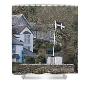 Flying The Flag For Cornwall Shower Curtain