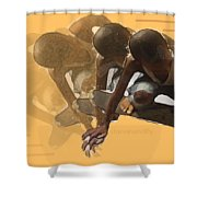 Flying Times Shower Curtain