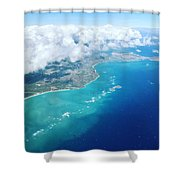 Flying To Paradise Shower Curtain