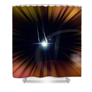 Flying To The Moon Shower Curtain