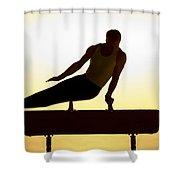 Flying Warm Shower Curtain