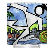 Flyingboyeee Shower Curtain
