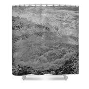 Foam Frozen In Time Shower Curtain