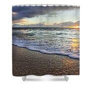 Foam Sunset Shower Curtain