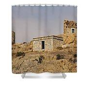 Foca Hillside Shower Curtain