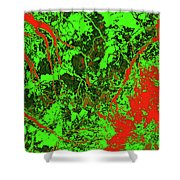 Focus Of Attention 24 Shower Curtain