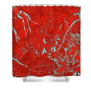 Focus Of Attention 35 Shower Curtain