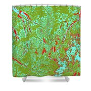 Focus Of Attention 39 Shower Curtain