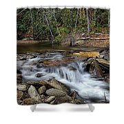Fodder Creek Shower Curtain