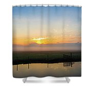 Fog 1 Shower Curtain
