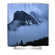 Fog And Clouds Shower Curtain
