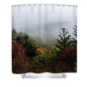 Fog And Drizzle. Shower Curtain by Itai Minovitz