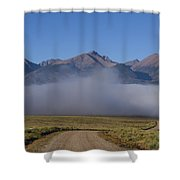Fog In The Fast Lane Shower Curtain