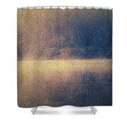Fog In The Foothills Shower Curtain
