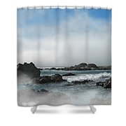 Fog Lift Shower Curtain