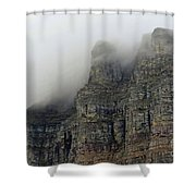 Fog On The Mountains Shower Curtain