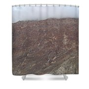 Fog Over The Hill Shower Curtain