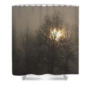 Fog Shine Shower Curtain