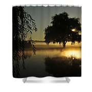 Fog Water And Sun Shower Curtain