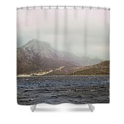 Fog, Wind And Waves Shower Curtain