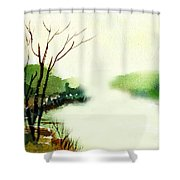 Fog1 Shower Curtain